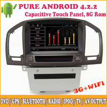 Anddroid For Buick Regal For Opel Insignia Android Touch Screen Multimedia Support Wifi 3G DVD GPS iPod Radio RDS Bluetooth SWC