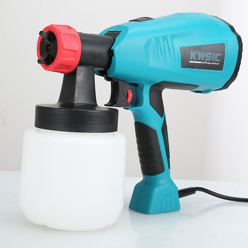 JOUSTMAX Spray Gun 400W High Power Home Electric Paint Sprayer Easy Spraying and Clean Perfect for Beginner Tool US/UK/EU Plug
