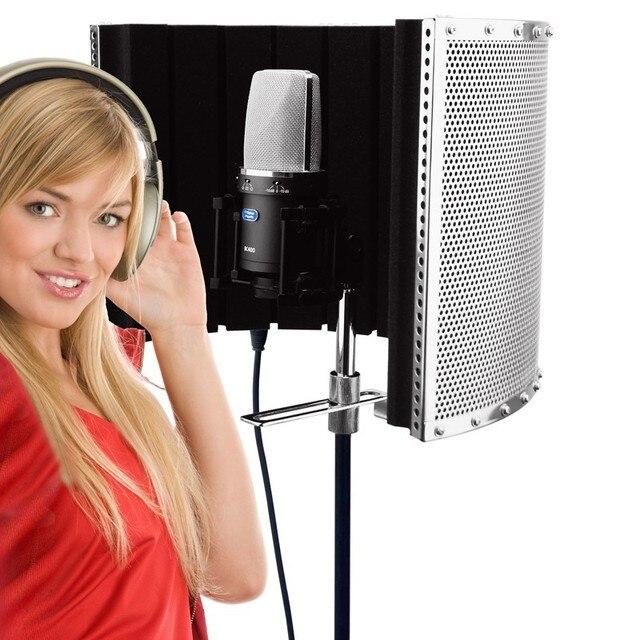 Alctron PF32 Записи микрофон ветер экрана звукопоглощающие крышка конденсаторный микрофон звукоизоляция экран системы управления
