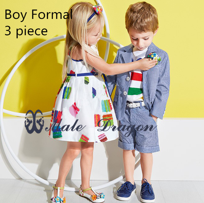 kids boy blazer set formal suit children gentleman suits baby boy wedding  dress boys full  striped outfits+pant sets clothes 2016 new arrival fashion baby boys kids blazers boy suit for weddings prom formal wine red white dress wedding boy suits
