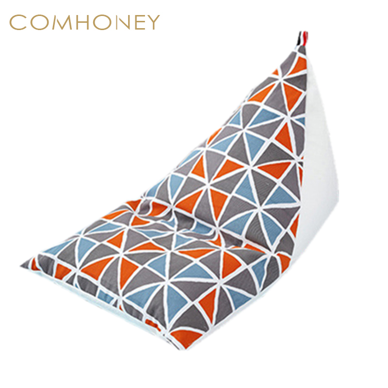 Admirable Children Chair Bean Bag Triangle Lazy Chair Baby Seat Sofa Dailytribune Chair Design For Home Dailytribuneorg