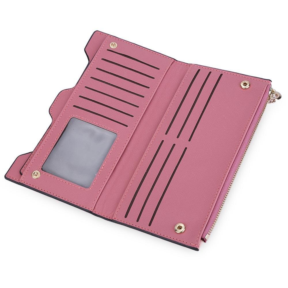 fino feminino carteira feminina portefeuille Altura do Item : 10.3cm