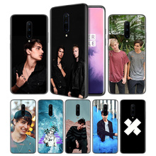 Sam and Colby Soft Black Silicone Case Cover for OnePlus 6 6T 7 Pro 5G Ultra-thin TPU Phone Back Protective