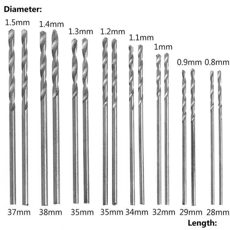 #000 Comb Length Drill HSS
