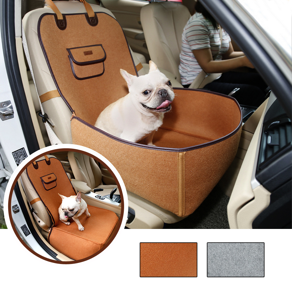 Waterproof Puppy Travel Carrier For Dogs Cats Folding Pet Cat Dog Car Basket Seat Cover Booster Outdoor Pet Bag Hammock