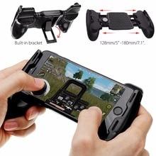 PUBG בקר טלפון Gamepad ההדק אש לחצן כפתורי מפתח Smartphone משחקים ניידים L1R1 היורה Shooter Gamepads ג 'ויסטיק