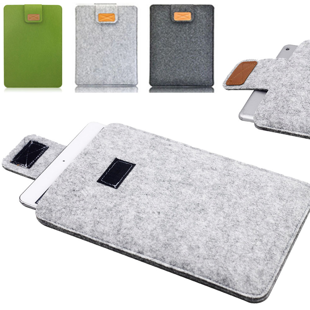 Woolen Felt Case cover envelope Pouch Ultrabook Sleeve Bag For Apple iPad AIR/AIR2 Tablet 9.7 inch For Samsung Universal 1520