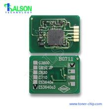 цена на Free shipping 16.5K Hot sale toner chip for oki  ES3640a3 cartridge reset chips 43837108 43837107 43837106 43837105
