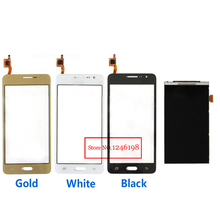 Negro / blanco / oro pantalla táctil Digitizer + LCD Display para Samsung Galaxy gran Prime G531 G531F teléfono de repuesto