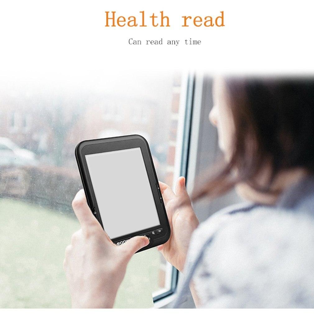 HD 6 pouces 4G/8G/16G bon état E-book e-ink affichage Ebook lecteur électronique E-book gris Ereader