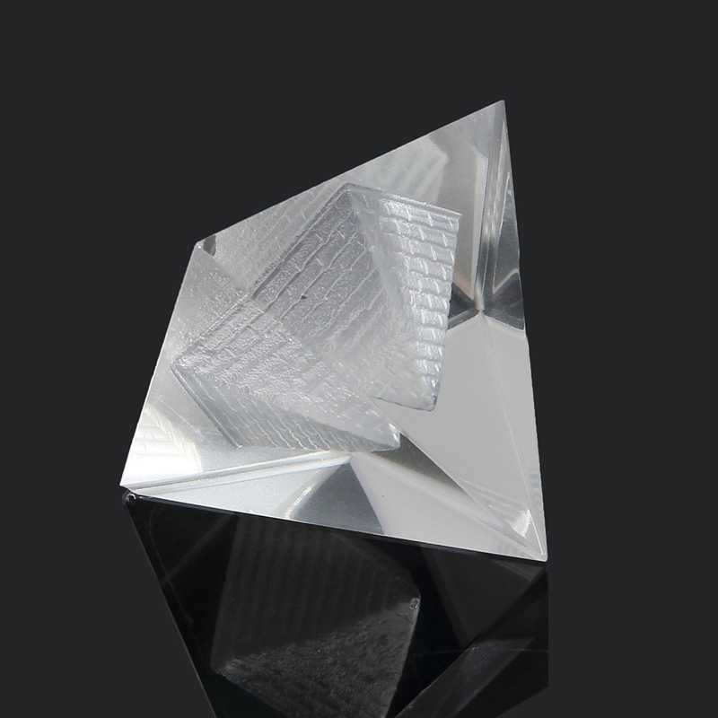Thời trang Ai Cập Ai Cập Tinh Thể Tự Nhiên Rõ Ràng Thạch Anh Kim Tự Tháp Home Decor Bàn Gift Phòng Khách Trang Trí Pha Lê Ornament Craft