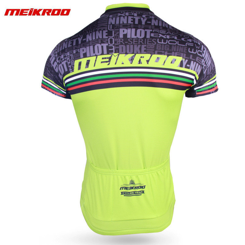 Meikroo Short Sleeve Cycling Jersey Set S MTB Bike Clothing Comfortable Bicycle Jerseys Clothes Maillot Ropa Ciclismo