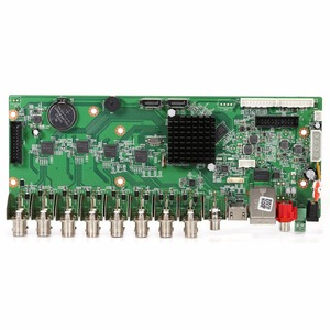 Image 4 - GADINAN AHD 16CH 1080N กล้องวงจรปิดเครื่องบันทึกวิดีโอเครือข่าย H.264 16 Channel Hybrid AHD/CVI/TVI/CVBS HDMI เอาต์พุต DIY 5 in 1 บอร์ดหลัก