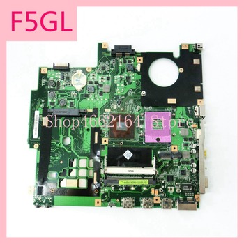 F5GL_MB_Laptop motherboard REV2.0 For ASUS X59GL X50GL Notebook mainboard P/N 08G2005FG20J fully tested