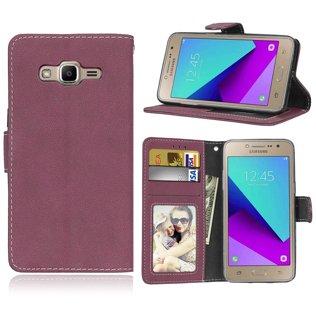 outlet store 3910f f6144 US $4.53 9% OFF|Flip cover for coque Samsung Galaxy J2 prime G532 G532F SM  G532F phone cases hoesjes for Etui samsung galaxy J2prime cover case-in ...