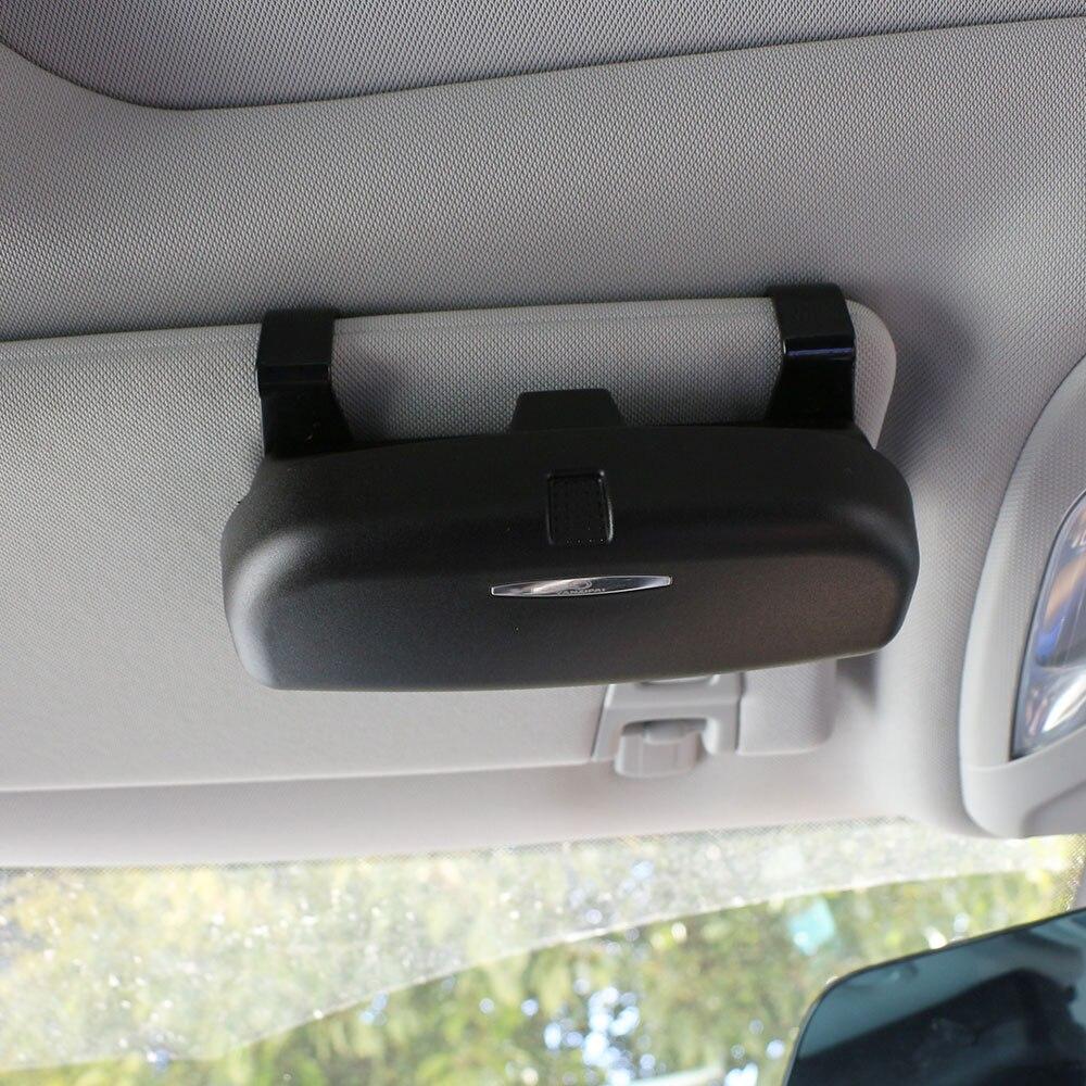 Farbe Mein Leben Brillenetui Organizer Box Sonnenbrille Halter Lagerung Taschen für Ford Focus Fiesta Ecosport Everest Mondeo Kuga