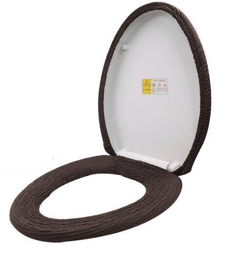 Fyjafon 2 шт. эластичные крышку унитаза двух частей мягкие удобные пальто туалет случае один размер для всех
