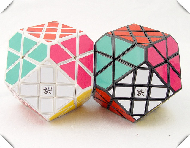 DaYan Gem Cube II  Magic Cube White And Black  Learning&Educational Cubo magico Toys