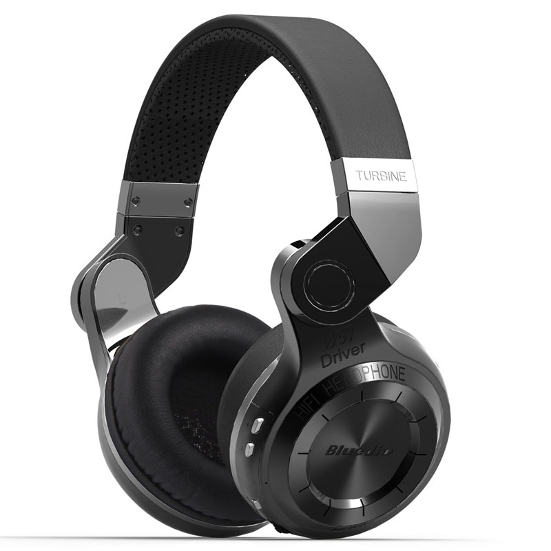 Bluedio T2 Bluetooth Estéreo inalámbrico de auriculares plegable auriculares micrófono incorporado BT4.1 potente Bass Over-ear Headphones