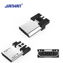Micro USB Connector 5 Pin Male DIY Adapter