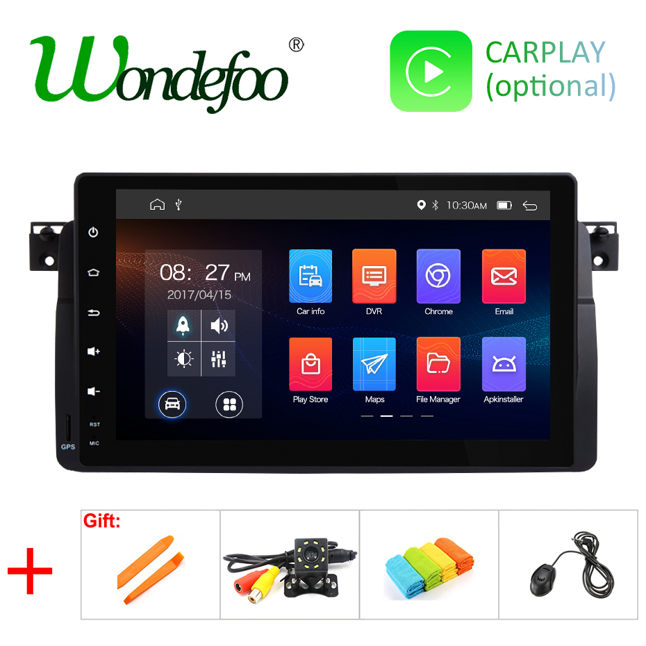 2G RAM Android 9.0 QUAD Core car GPS for BMW E46 M3 Rover 75 MG ZT no dvd player with Multimedia radio AUDIO stereo receiver IPS