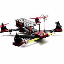 Profesional rc Quadcopter drone Nighthawk Pro 280mm Ukuran Frame Serat Karbon Dan Serat Kaca Campuran profesional Quadcopter Bingkai