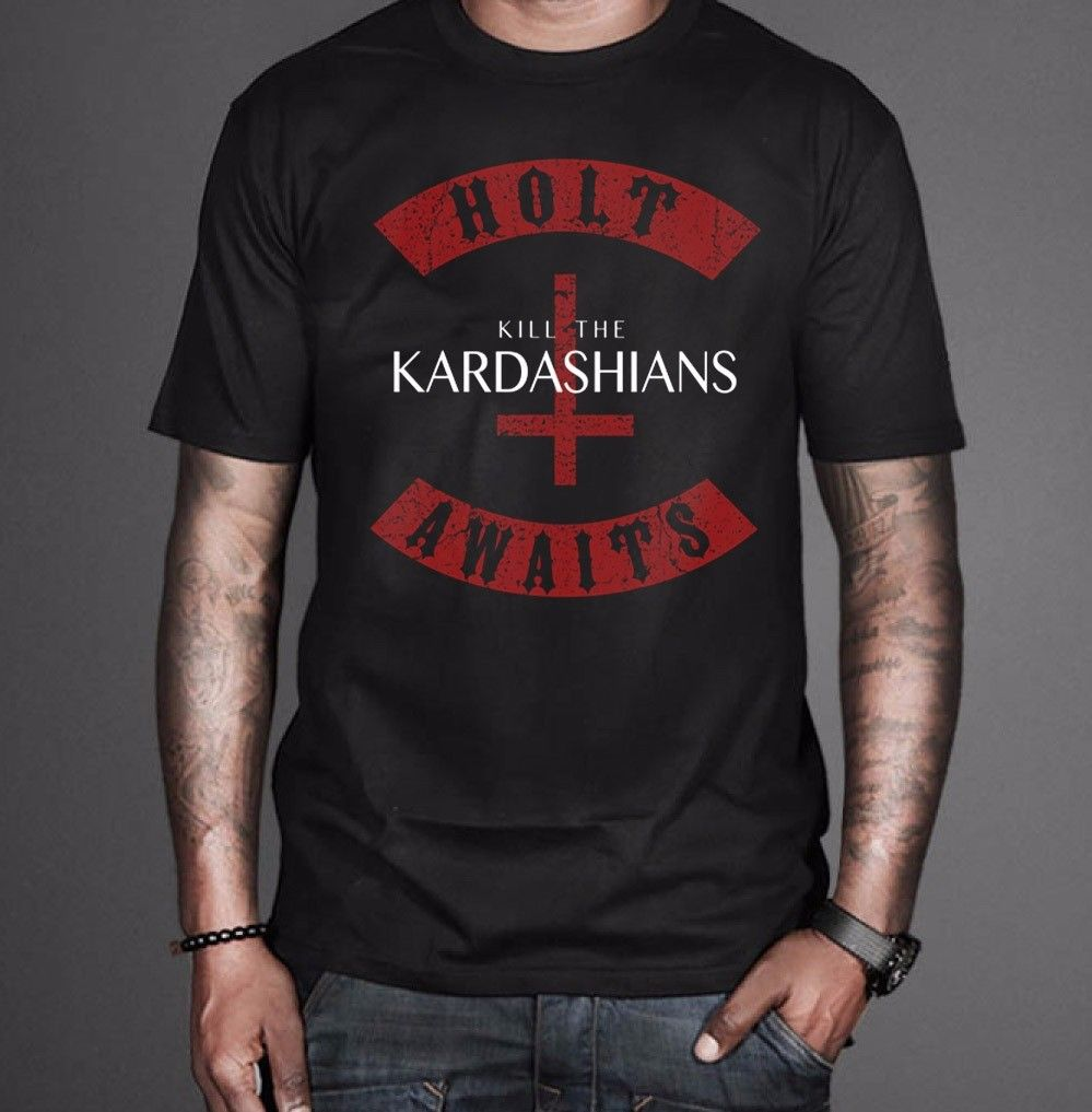 Best New Kill The Kardashians Holt Awaits Slayer Gary Holt Exodus T-Shirt Size