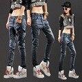 Verão nova calça casual solta calça jeans roupas baratas china mulheres venda promoção de Desconto Moda sexy Venda no outono