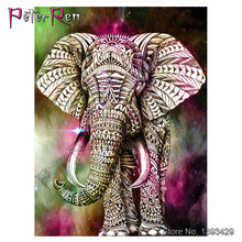 5D DIY Diamond Painting Elephant Cartoon Animals diamond Embroidery Animal Crystal Cross stitch Crafts Decoration gift