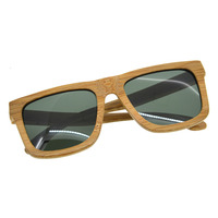 New Fashion Products Glass Comfortable Bamboo Sunglasses Luxury Wooden Frame Brand Design Vintage Wood Lens Men Women