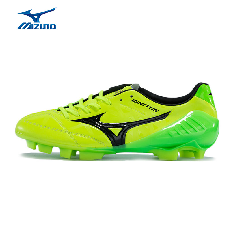 MIZUNO Men's WAVE IGNITUS 4 MD Breathable Soccer Shoes Skid-Resistance  Sneakers Sports Shoes P1GA163145 YXZ044