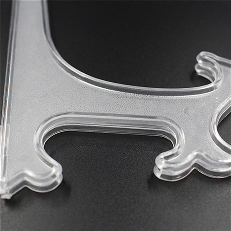 New 1 PC Clear Plastic Plate Stands Bowl Plate Display Stands Picture Frame Stand Easel Pedestal Rack Home Decor 10152025cm-in Frame from Home \u0026 Garden ... & New 1 PC Clear Plastic Plate Stands Bowl Plate Display Stands ...