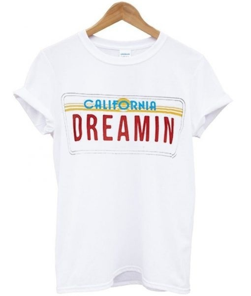 4ccd06abc hahayule California Dreamin Women Vintage Summer Cute Casual Loose Graphic  Tee Street Style Fashion Top Cool T Shirts Kawaii-in T-Shirts from Women's  ...