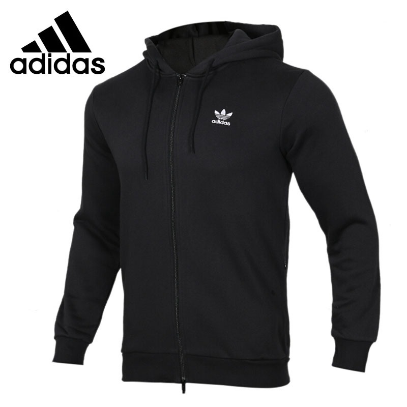 Original New Arrival 2018 Adidas Originals  TRF FLC HOODIE Men's  jacket Hooded Sportswear