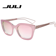 JULI Fashion Alloy rectangular AMA1 Brand Sunglasses AMA Women Driving Sun Glasses Accessories Eyewear Classic Eyewear UV400