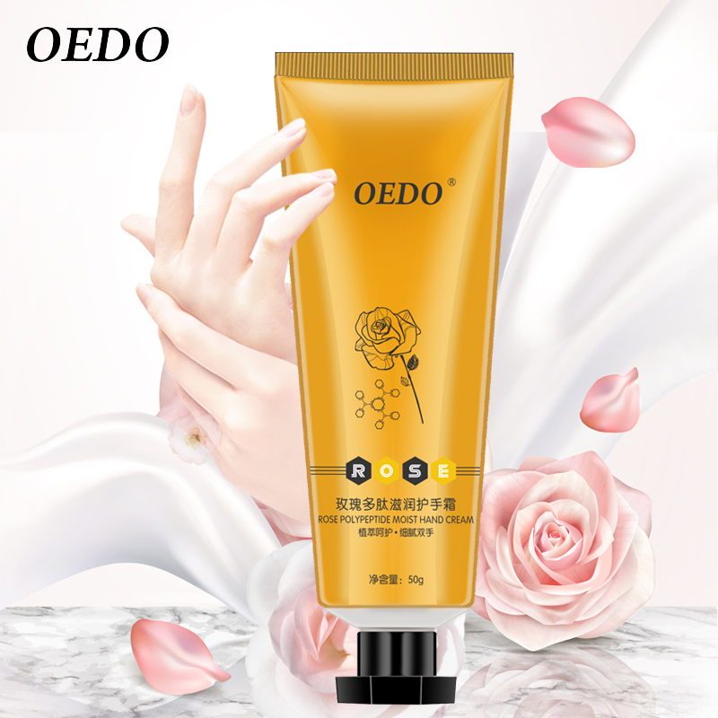 Rose Peptide Moist Hand Cream Nourishing Skin Care Anti Chapping Anti Aging Repair Moisturizing Whitening Hand Care Cream quick drying gym sports suits breathable suit compression top quality fitness women yoga sets two pieces running sports shirt