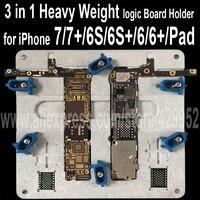3 ב 1 טמפרטורה גבוהה מהדק לוח היגיון ראשי האם מתקן PCB 5S מחזיק עבור iPhone 6 6 S 7 תוספת iPad עובש תיקון תקן