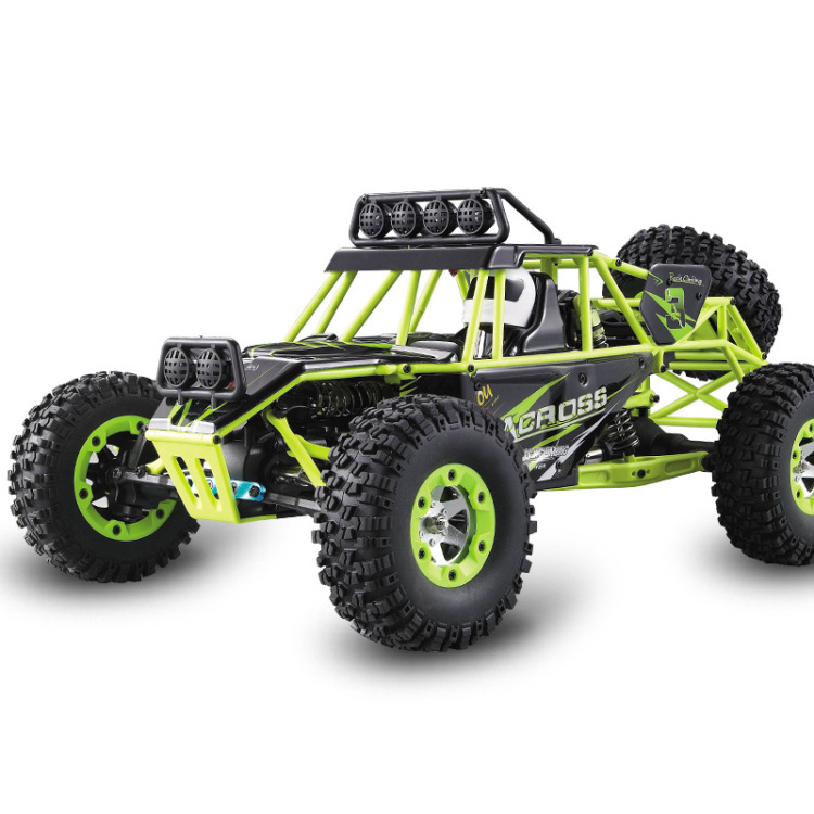Original Wltoys 12428 RC Car 1/12 Scale 2.4G Electric 4WD Remote Control Car 50KM/H High speed RC Climbing Car Off-road vehicle wltoys 12428 12423 1 12 rc car spare parts 12428 0091 12428 0133 front rear diff gear differential gear complete