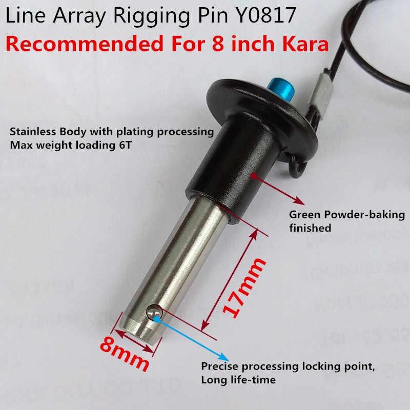 Finlemho Колонка линейного массива Аксессуары Pin 8x17 мм Y0817 для профессионального аудио 8 дюймов Kara система портативный DJ консольный микшер
