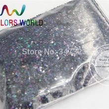 1,5 мм Лазерный черный Цвет блестки пайетки, голографическая Цвет Блестки для нейл-арта или Другое DIY decora