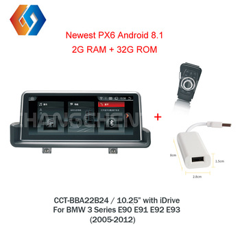 Newest Car Radio Android 8.1 Multimedia For BMW 3 Series E90 E91 E92 E93 2005-2012 Supply With iDrive Controller Hotsale LHD 24 image