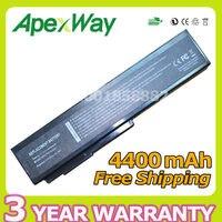 Apexway 4400 mAh סוללה למחשב נייד Asus A32-M50 A32-N61 A33-M50 N61J N61Ja N61 N61jq N61jv n61vg n61d A32 M50 M51 M60 M70 G51J