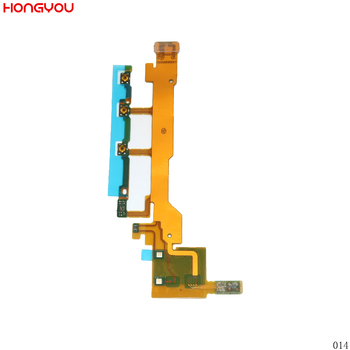 Power Button On / Off Volume Button Mute Switch Flex Cable With Microphone For Sony Xperia Z L36H L36 LT36 C6602 C6603 image