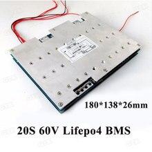 GTK BMS 20S 150A 200A 250A 300A 400A 60V Lifepo4 плата защиты батареи для 60v литиевая Lifepo4 батарейный блок PCB баланс