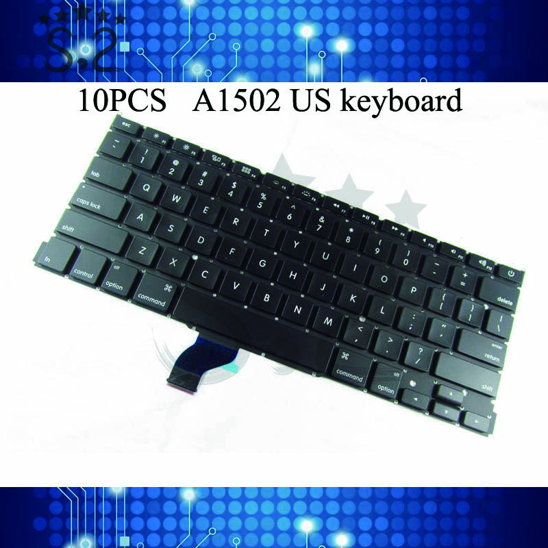 5 10 pieces A1502 US Keyboard For Macbook Pro Retina 2013 2015 year Mechanical Keyboard