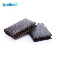 Kingfom Unisex PU Leather Business Card Name Card Holder Credit Card Organizer Wallet Pocket 1335 1336