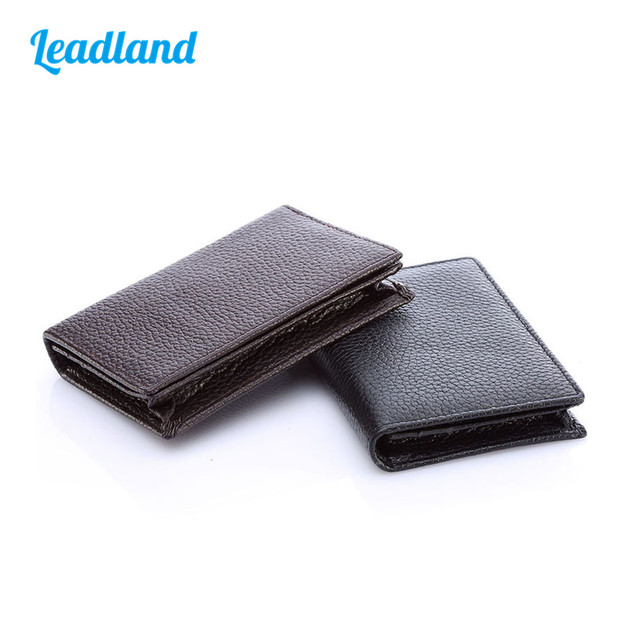 Aliexpress buy kingfom unisex pu leather business card name kingfom unisex pu leather business card name card holder credit card organizer wallet pocket 1335 1336 reheart Images