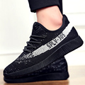 2017 Brand New Mens Casual Shoes male Trainers Breathable Chaussure Femmes Flats Outdoor Mens casual shoes  Black Grey Jogging