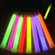 20 PCS 6inch Concert Wilderness Glow Stick Fluorescent Multifunction Survival Camping Emergency Lights Glowtick