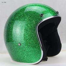 L Супер Высокого качества стекловолокна шлем Чоппер мотоциклетный шлем Бесплатная доставка